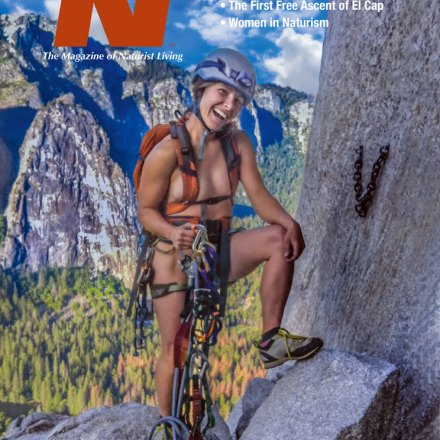 38.3 Spring Nude & Natural Magazine, The Journal of Naturist Living.