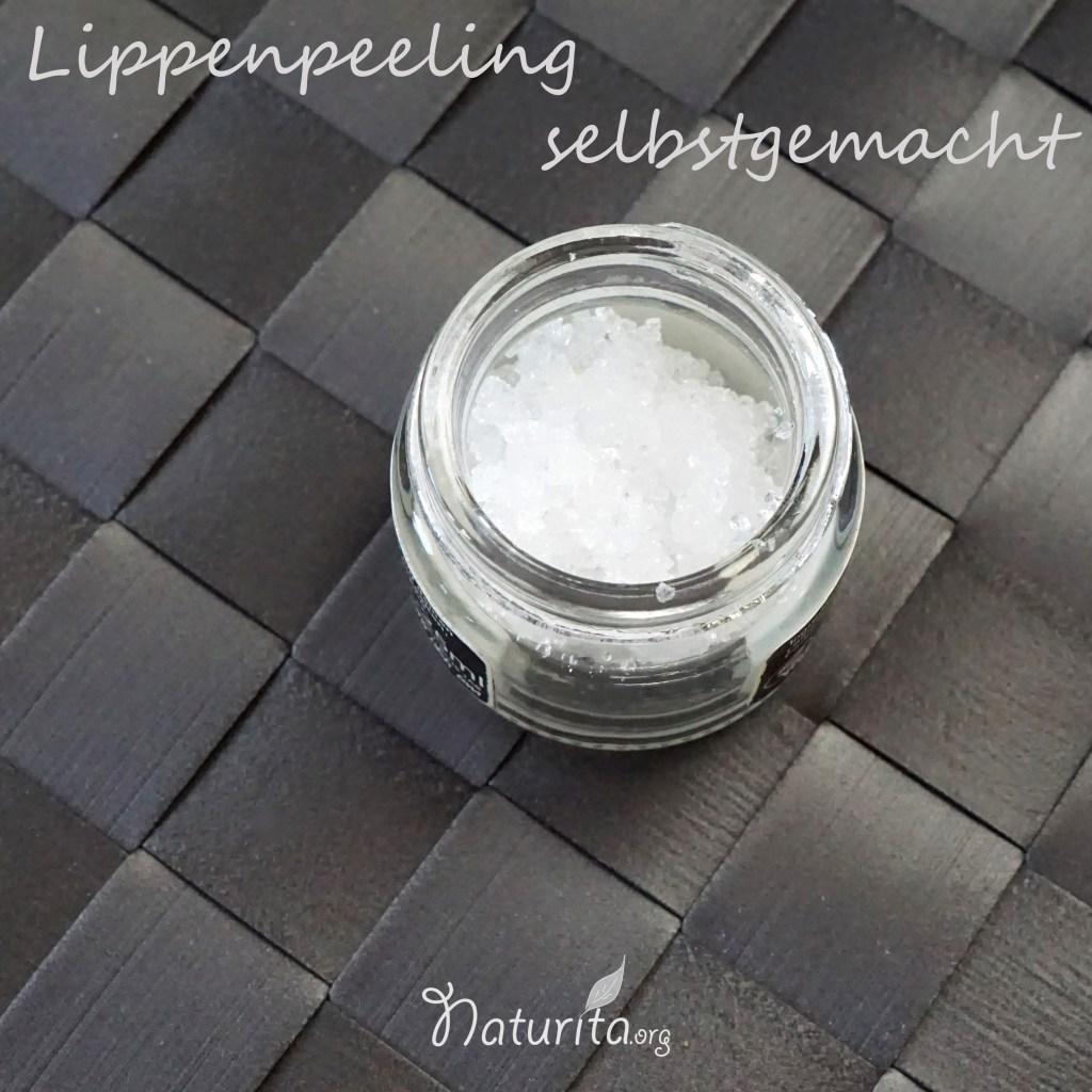 Lippenpeeling_ohne_Honig_Zucker