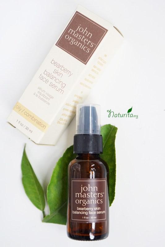 John Masters Organics Bearberry Oily Skin Balancing Face Serum Review
