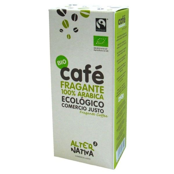 1259 Cafe fragante molido ALTERNATIVA 3 250 gr BIO
