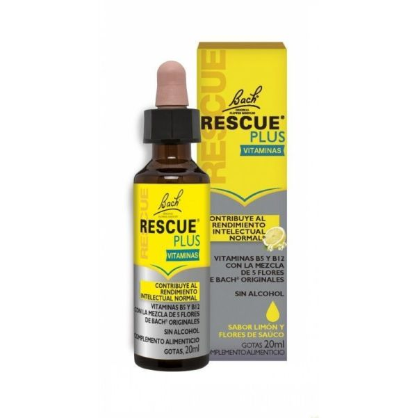2361 Rescue remedy plus FLORES DE BACH 20 ml
