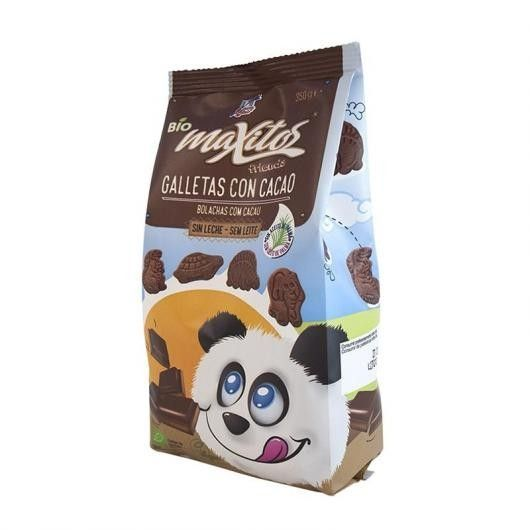 3173 Galletas maxitos cacao FINESTRA 350 gr BIO
