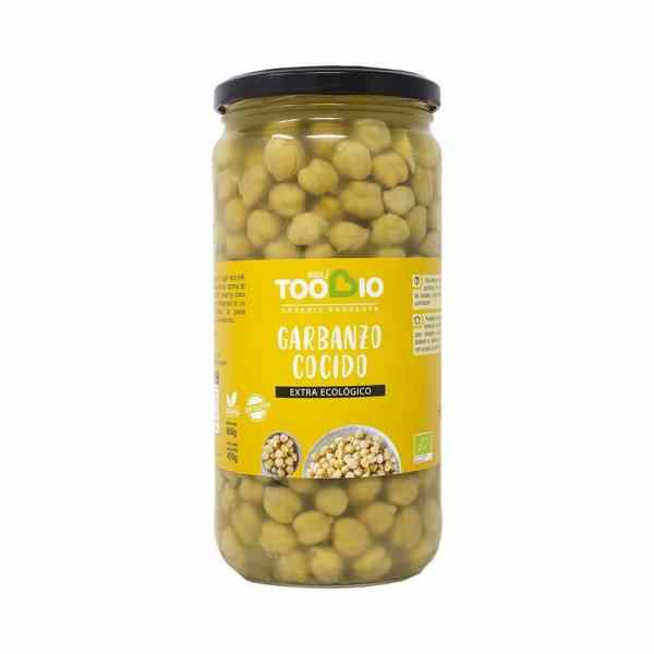 3599 Garbanzos TOO BIO 660 gr BIO