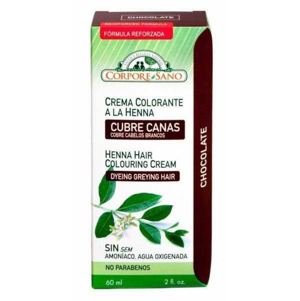 58 Crema colorante chocolate CORPORE SANO 60 ml