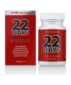 22 days pastillas potenciadoras de la erección