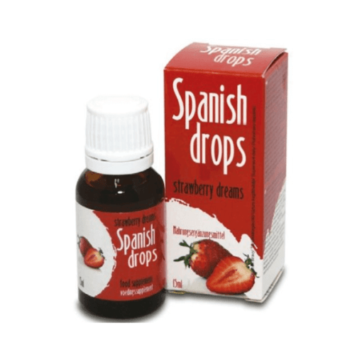 spanish drops fresa afrodisíaco en gotas