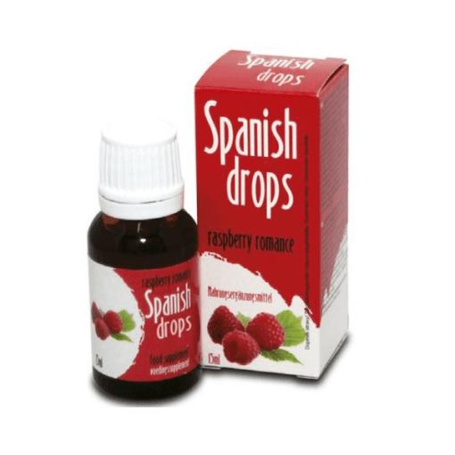 spanish drops frambuesa afrodisíaco en gotas