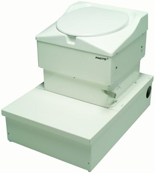 Podium gir muligheten for økt kapasitet for Pacto toalett