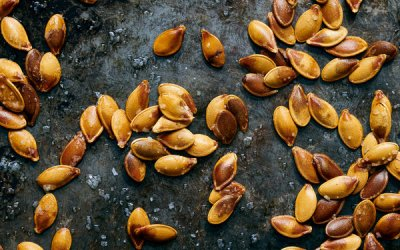 Roasted Gourd Seeds Recipe