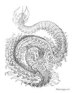 Антистресс раскраски драконы распечатать легко и бесплатно