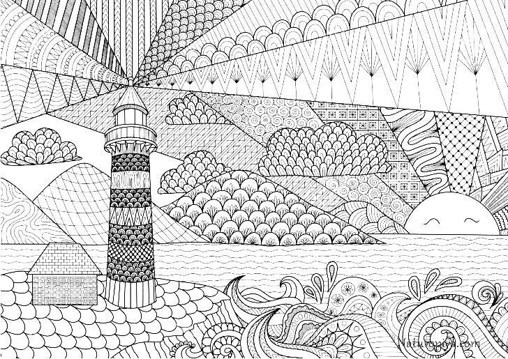рисунки антистресс для раскрашивания цветочная арт терапия