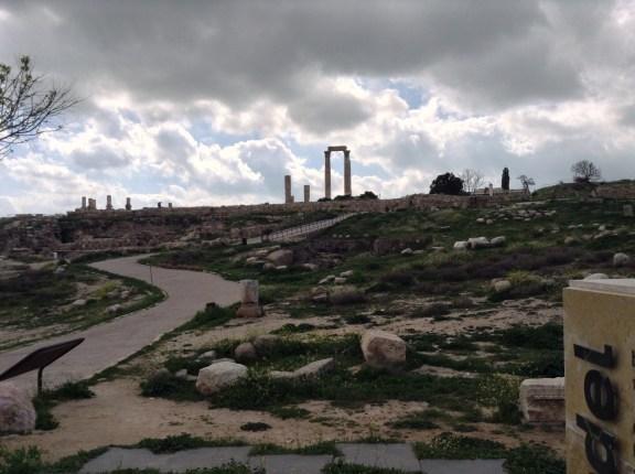 Säulen des Herkules-Tempel auf der Zitadelle