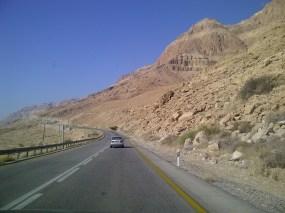 Weg nach Masada