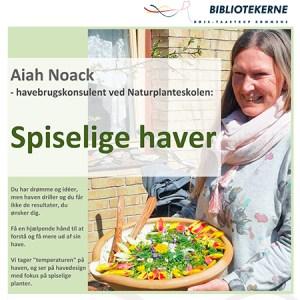Foredrag om spiselige haver i Taastrup @ Taastrup Bibliotek