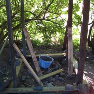 Byg et komposttoilet, opstart @ Naturplanteskolen   Hedehusene   Danmark