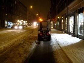 Schneeräumung in Kopenhagen