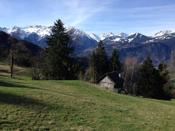 Hütte Ludescherberg