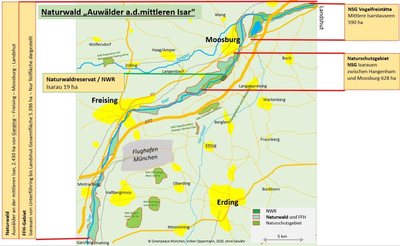 Naturwald von Ismaning-Freising-Moosburg-Landshut