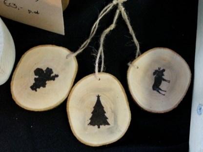 Diverse Boomschijfhanger voor de Kerstboom
