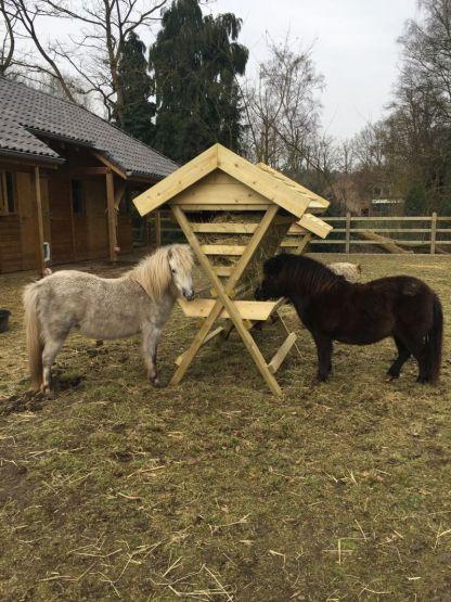 Hooiruif voor ponys en kleine paarden