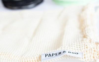 Nieuw in de shop.. Duurzame producten van Paper & Boo