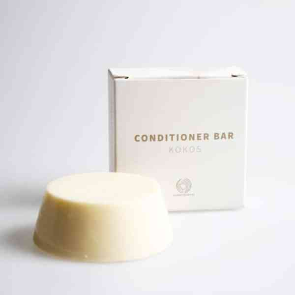 Knop om de Conditioner Bar Kokos te kopen