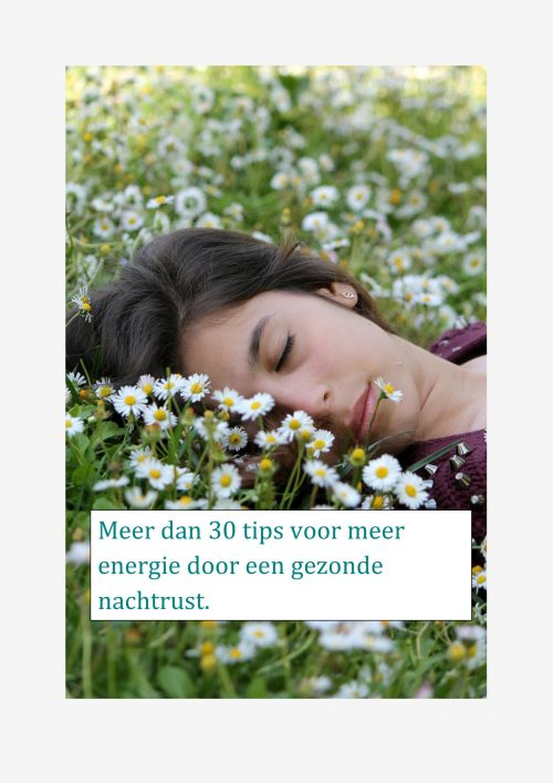 Meer energie en levenslust door een optimale slaap