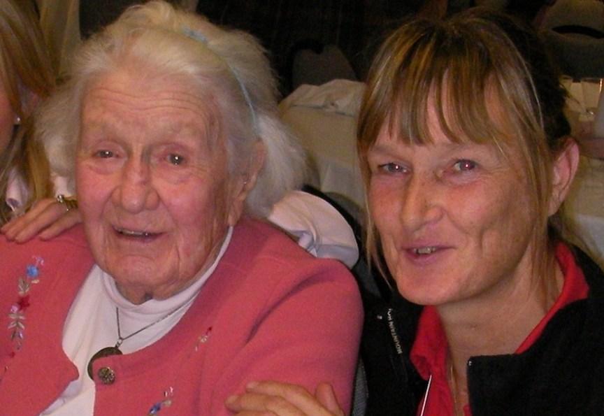 Sally Swift en Margreet Bouwmeester