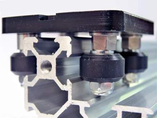 Espaciadora excéntrica 6mm M5, Eccentric Spacer, Natytec.