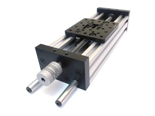 Guía lineal, perfil aluminio, Natytec.