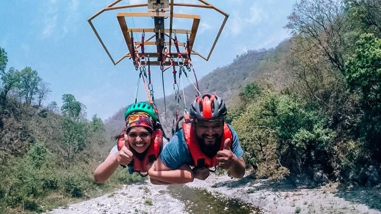 Flying Fox_Jumping Heights_Rishikesh