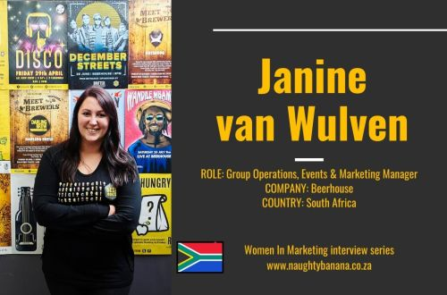 Women In Marketing Interview | Janine van Wulven from Beerhouse 3
