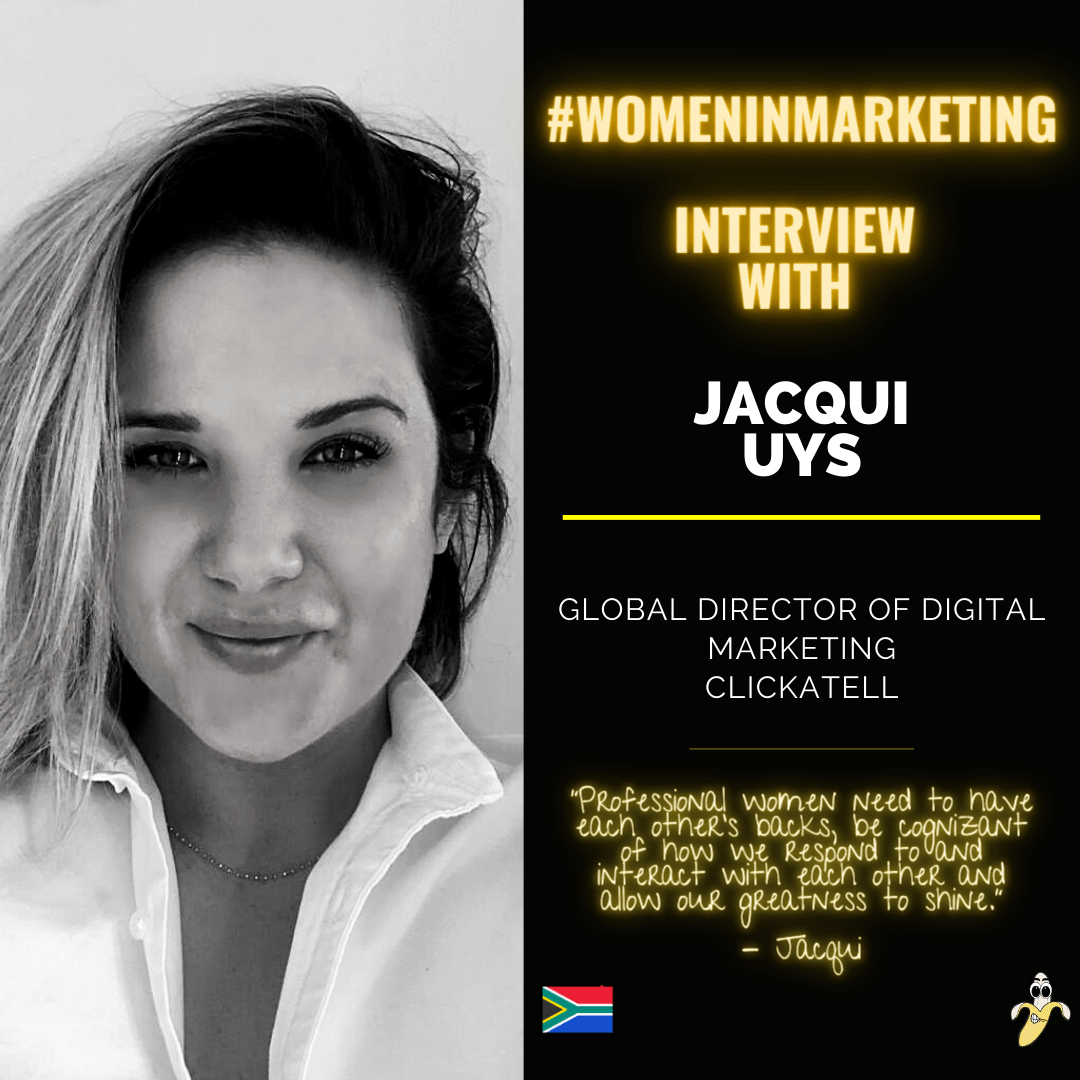 Women In Marketing, Jacqui Uys
