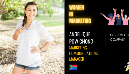Angelique Pow Chong LinkedIn, Women In Marketing