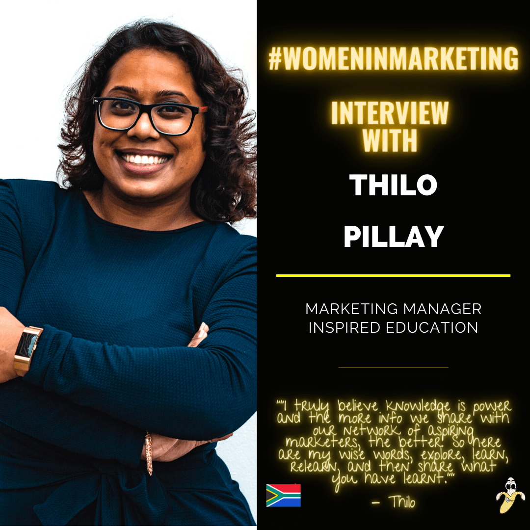 Women In Marketing, Thilo Pillay Featured Image