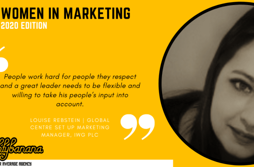 Louise Rebstein, LinkedIn, Women In Marketing (Yellow)