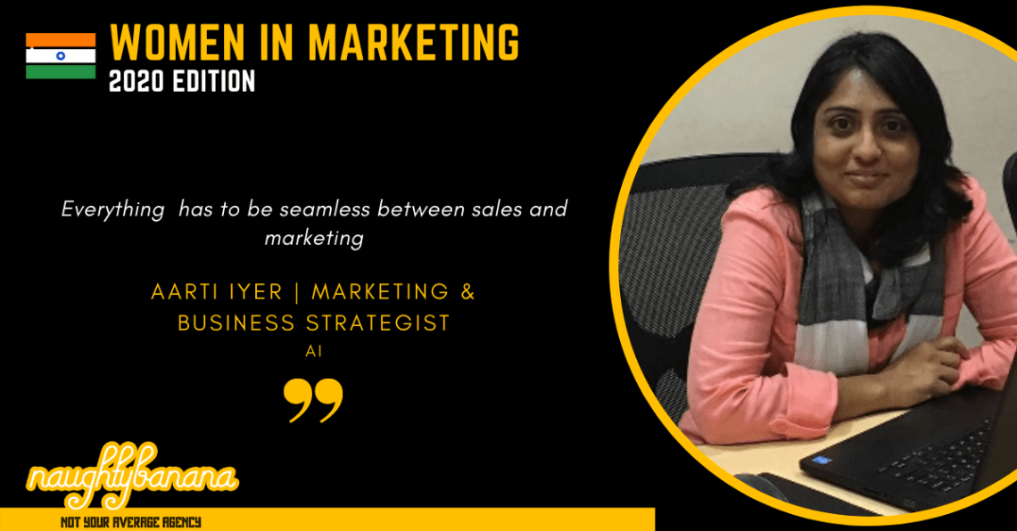 Aarti B Iyer LinkedIn, Women In Marketing (Black)