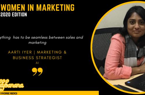 Aarti B Iyer LinkedIn, Women In Marketing (Black)