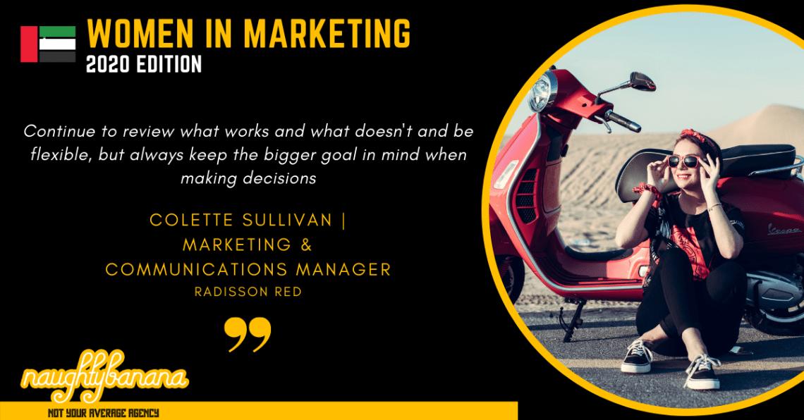Colette Sullivan, LinkedIn, Women In Marketing (Black)
