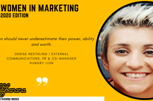 Denise Neethling, LinkedIn, Women In Marketing (Yellow)