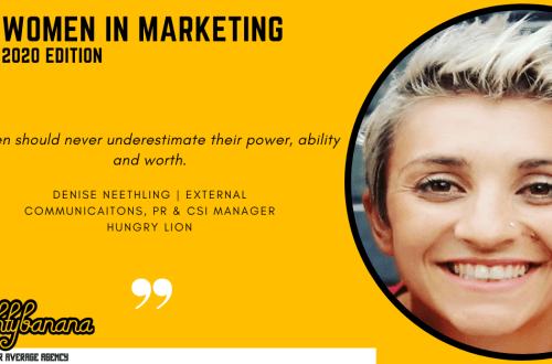 Denise Neethling, LinkedIn, Women In Marketing (Yellow)
