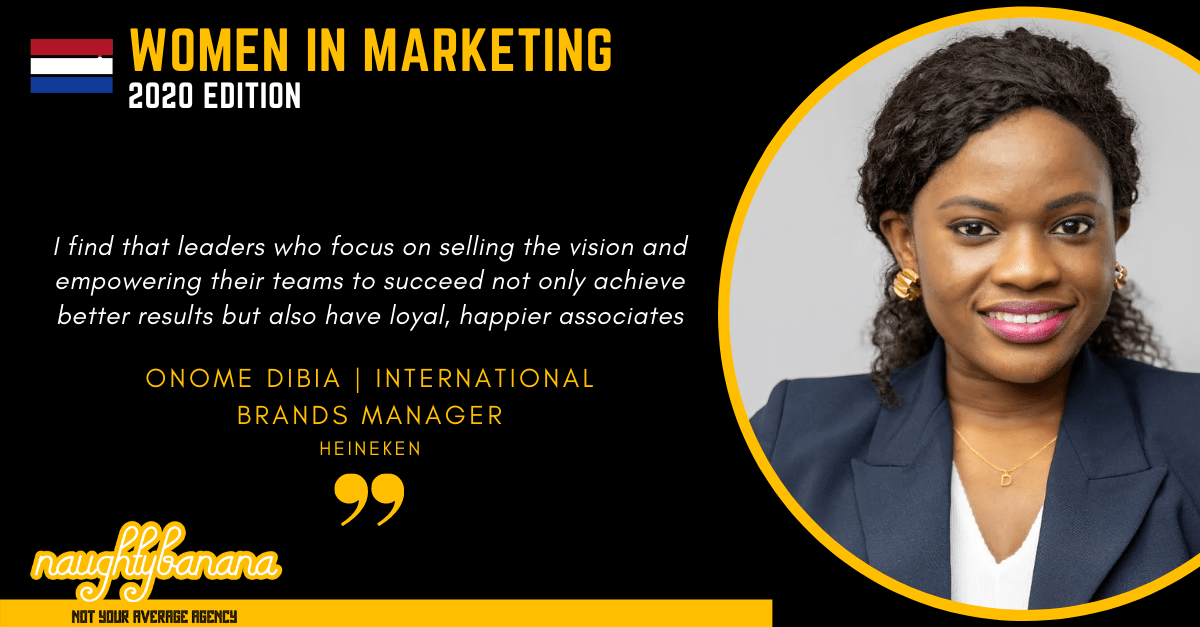 Onome Dibia, LinkedIn, Women In Marketing (Black)