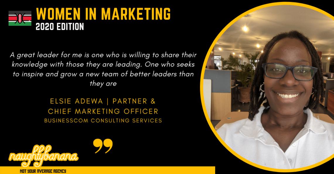 Elsie Adewa, LinkedIn, Women In Marketing (Black)