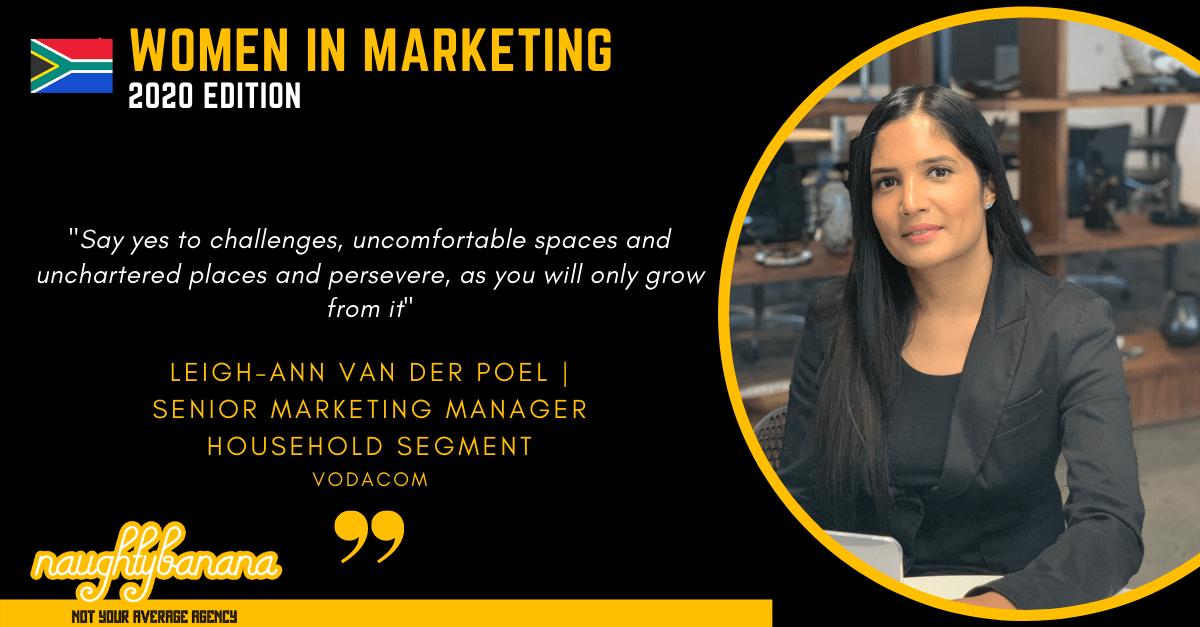 Leigh-Ann van der Poel, LinkedIn, Women In Marketing (Black)