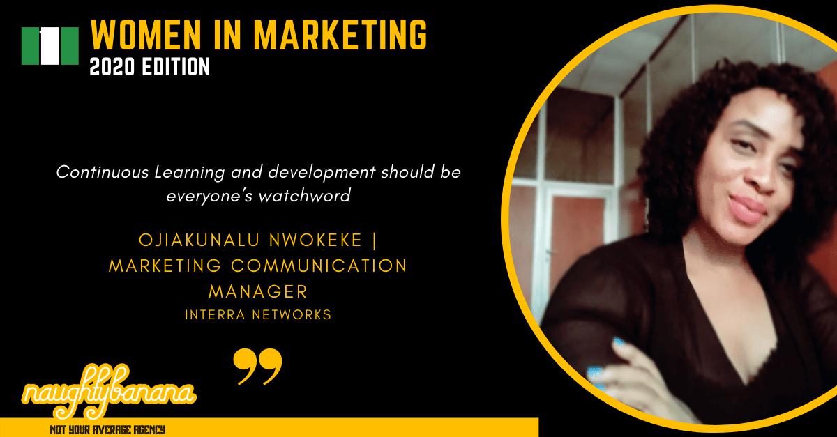 Ojiakunalu Nwokeke, LinkedIn, Women In Marketing (Black)