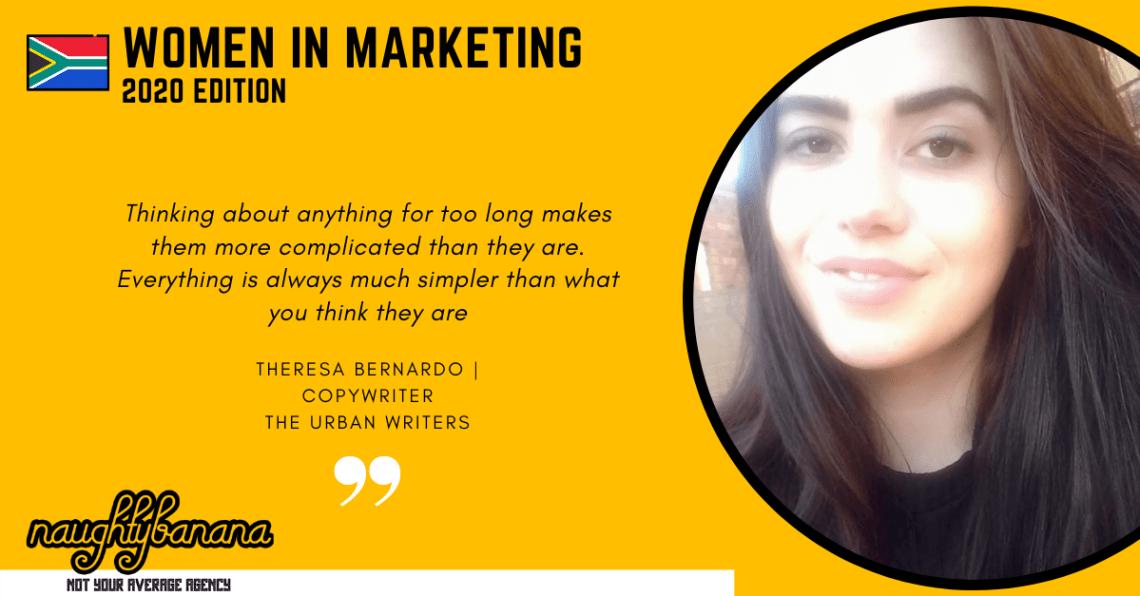 Theresa Bernardo, LinkedIn, Women In Marketing (Yellow)