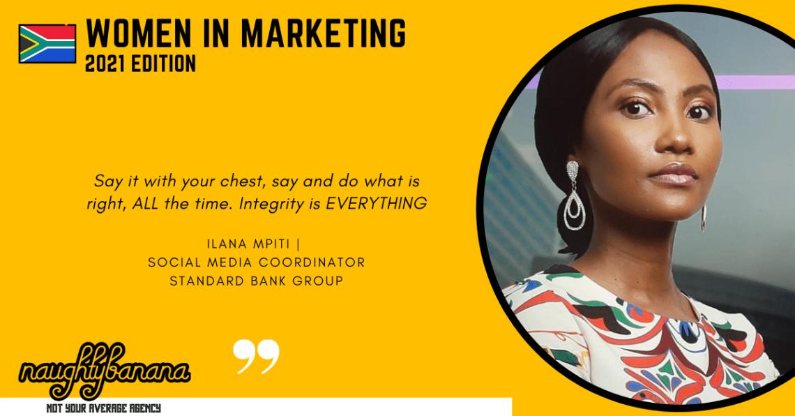 Ilana Mpiti, LinkedIn, Women In Marketing (Yellow)