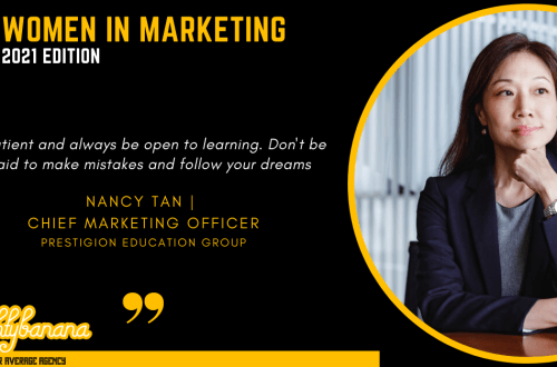 Nancy Tan LinkedIn, Women In Marketing (Black)