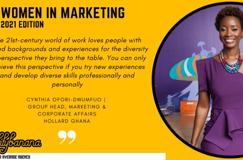 Cynthia Ofori-Dwumfuo, LinkedIn, Women In Marketing (Yellow)
