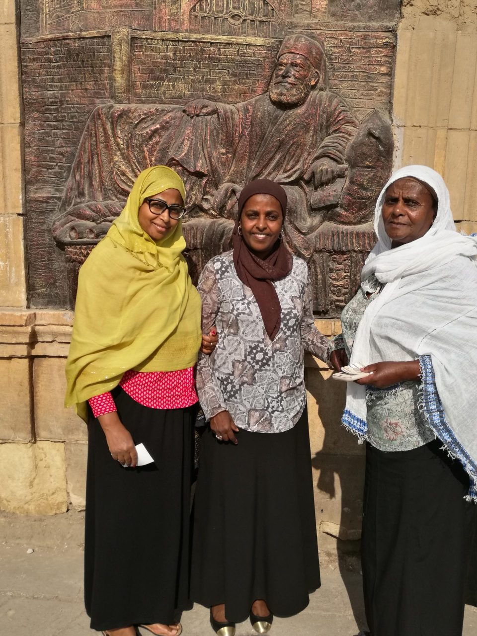 Rehema with her sister and mother, Women In Marketing 1